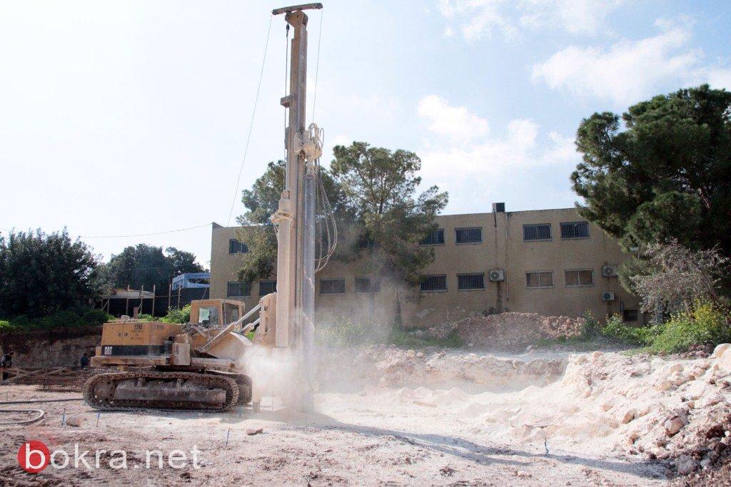 بدء بناء مدرسة جديدة في المقيبلة .. النهضة العمراني في الجلبوع