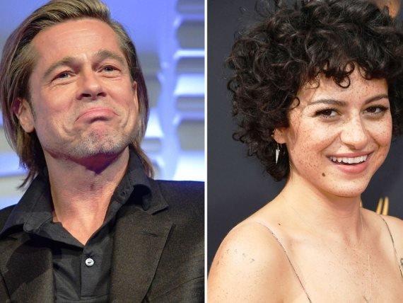 براد بيت يكشف حقيقة علاقته بالممثلة العربية-0