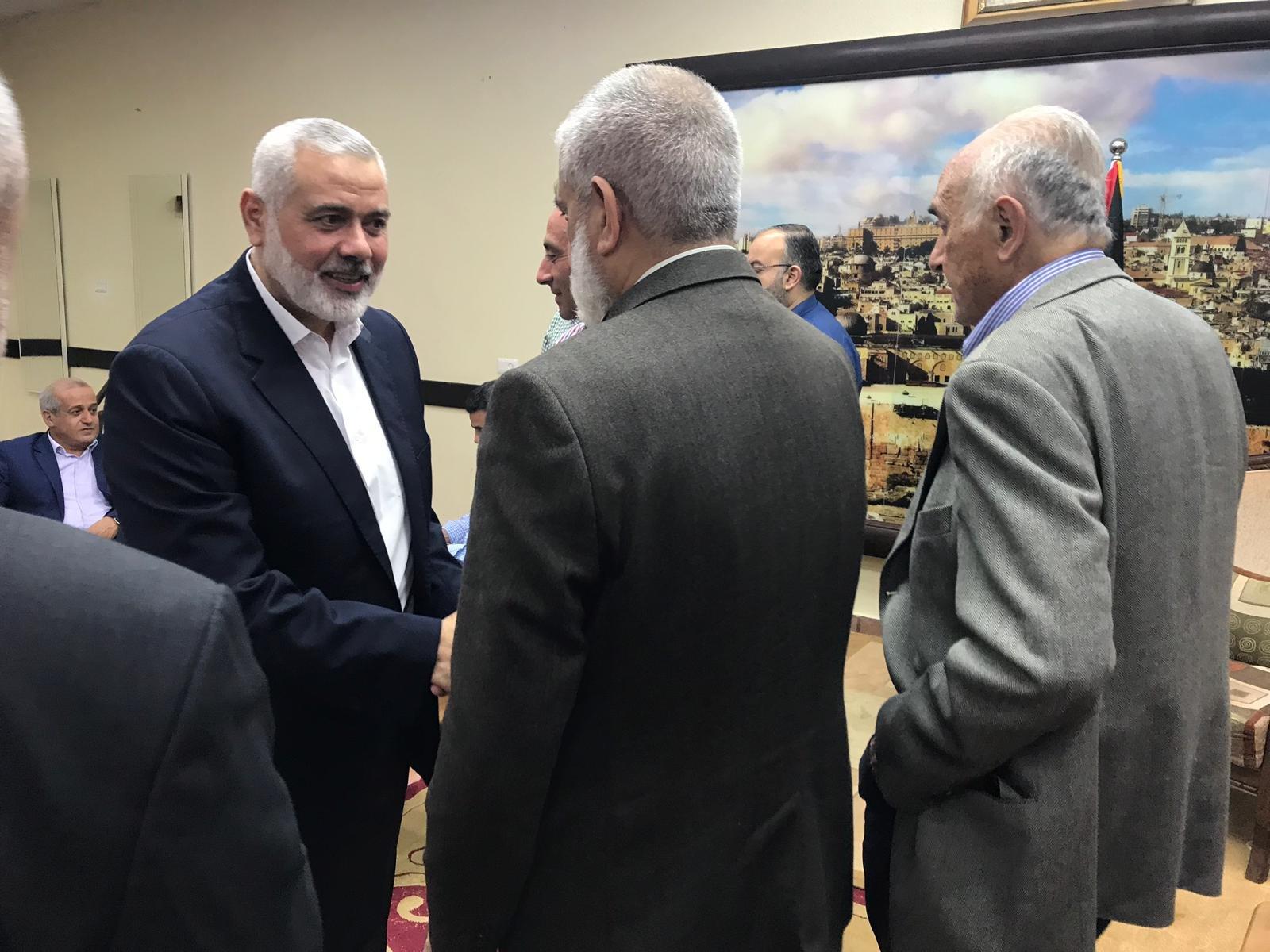 المصري يعقد عددا من الاجتماعات في غزة