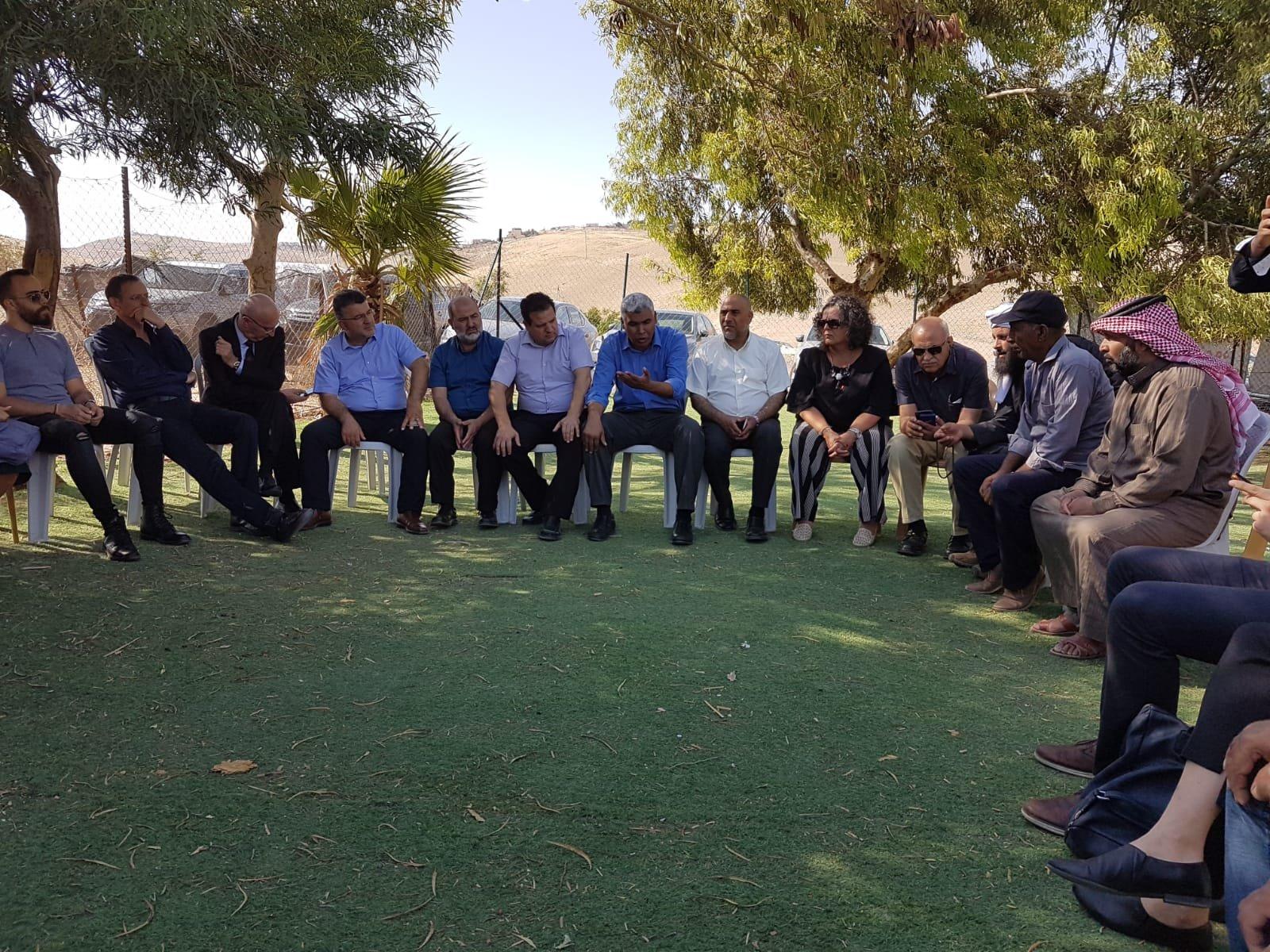 الزبارقة: ترحيل الخان الأحمر استمرار تطبيق مخطط ضم الضفة