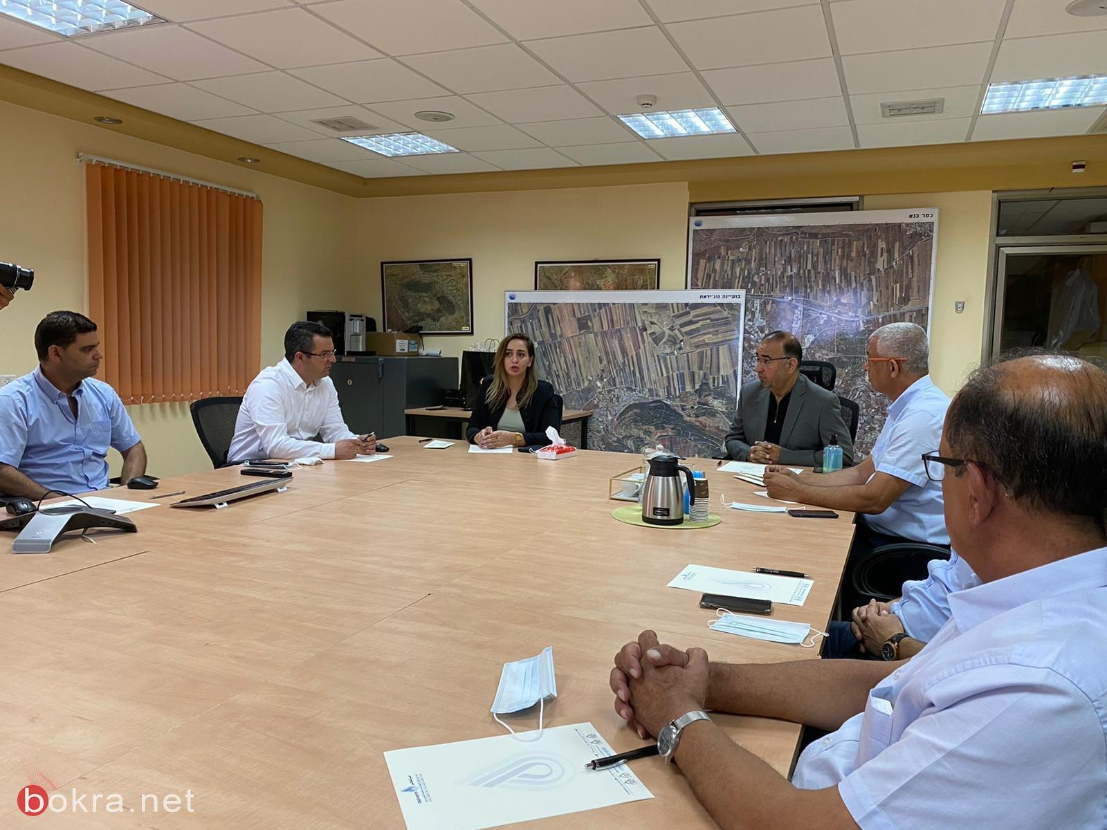 النائب صالح في زيارة إلى مياهكم: التخطيط البيئي السليم يساهم بخفض منسوب العنف