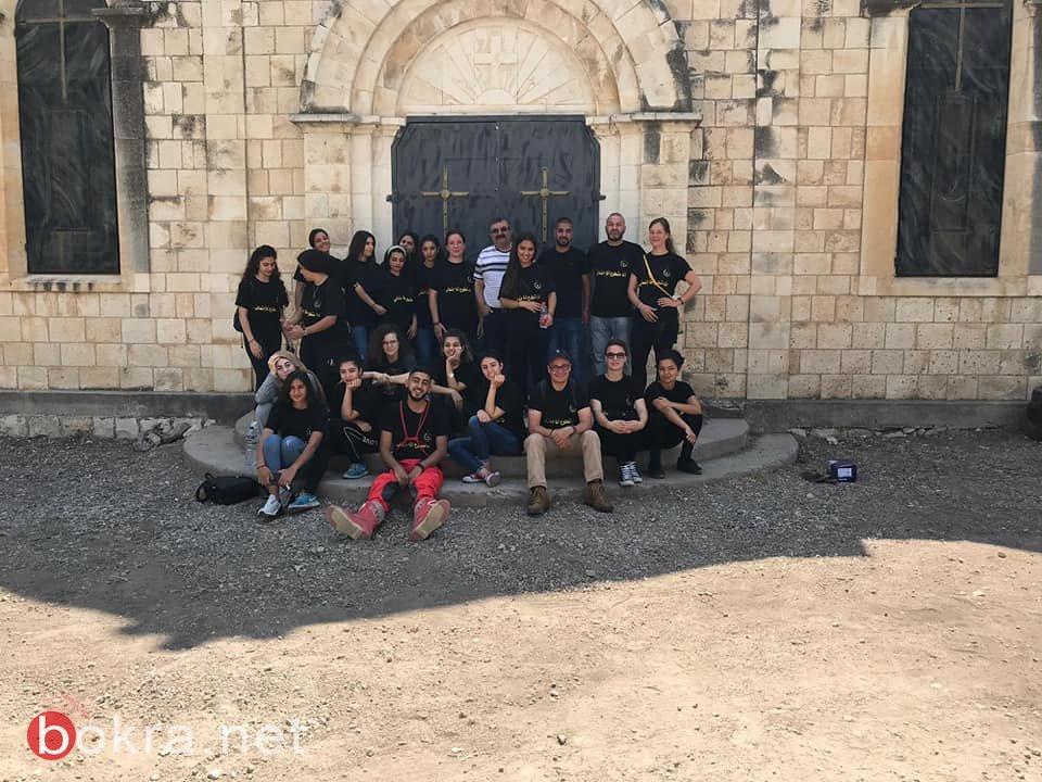 جمعية انماء تستقبل وفدا شبابيا المانيا ضمن مخيمها الشبابي