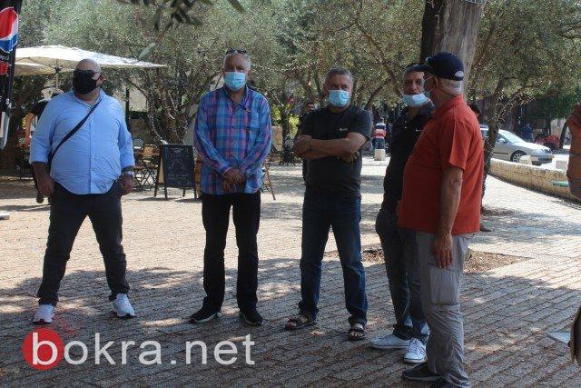 انطلاق احتجاجات نقابة مرشدي السياحة العرب من الناصرة
