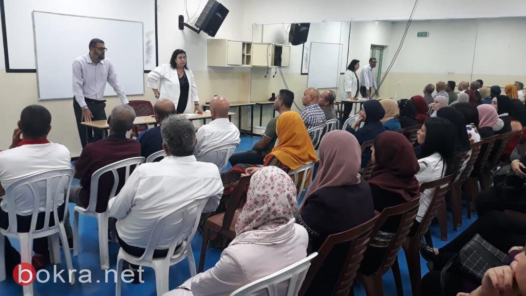 يوم لأهالي طلاب الصفوف الحادية عشر في مدرسة ثانوية رؤوف أبو حاطوم يافة الناصرة