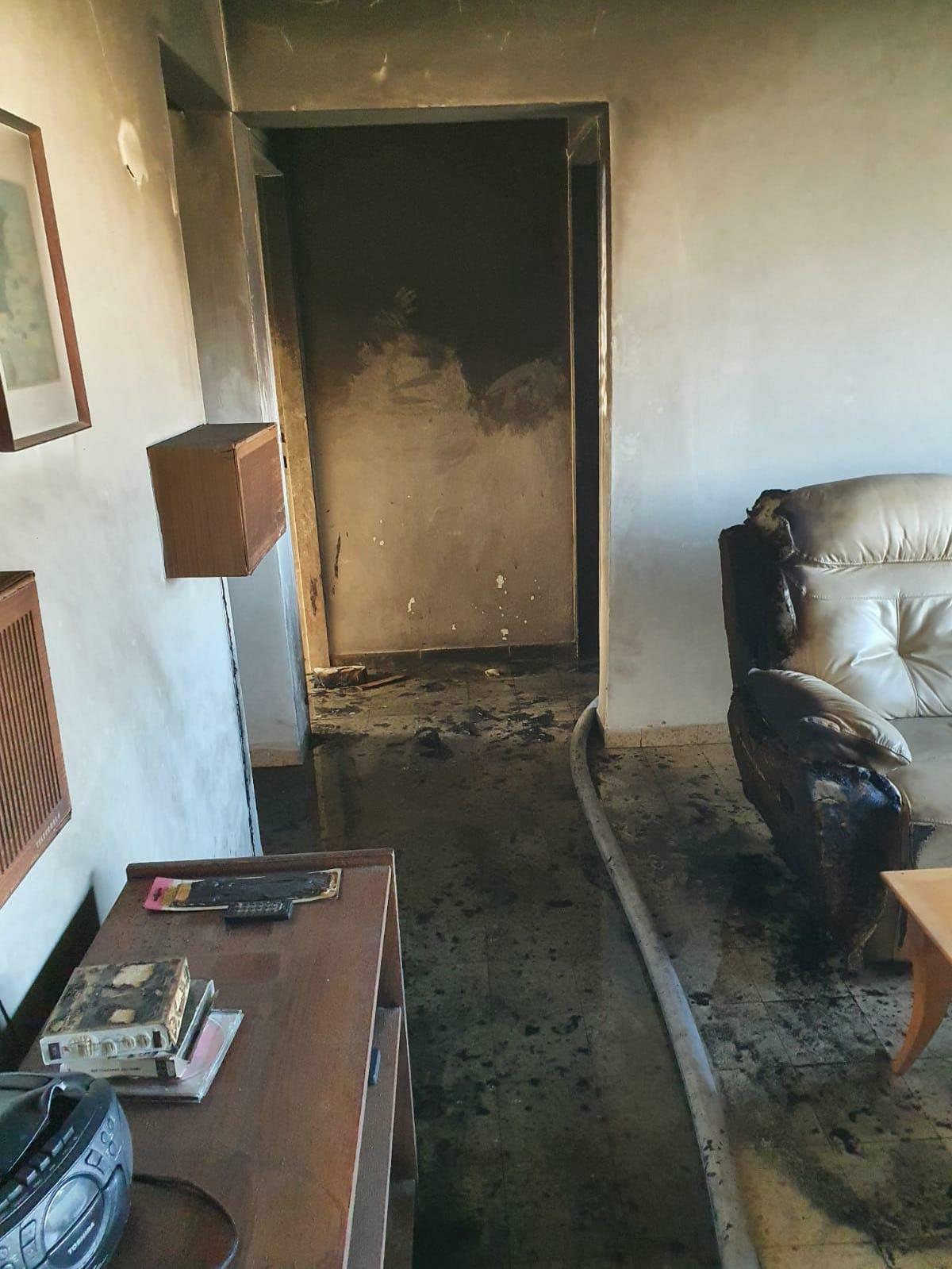 مصرع مسن باحتراق شقة في حيفا
