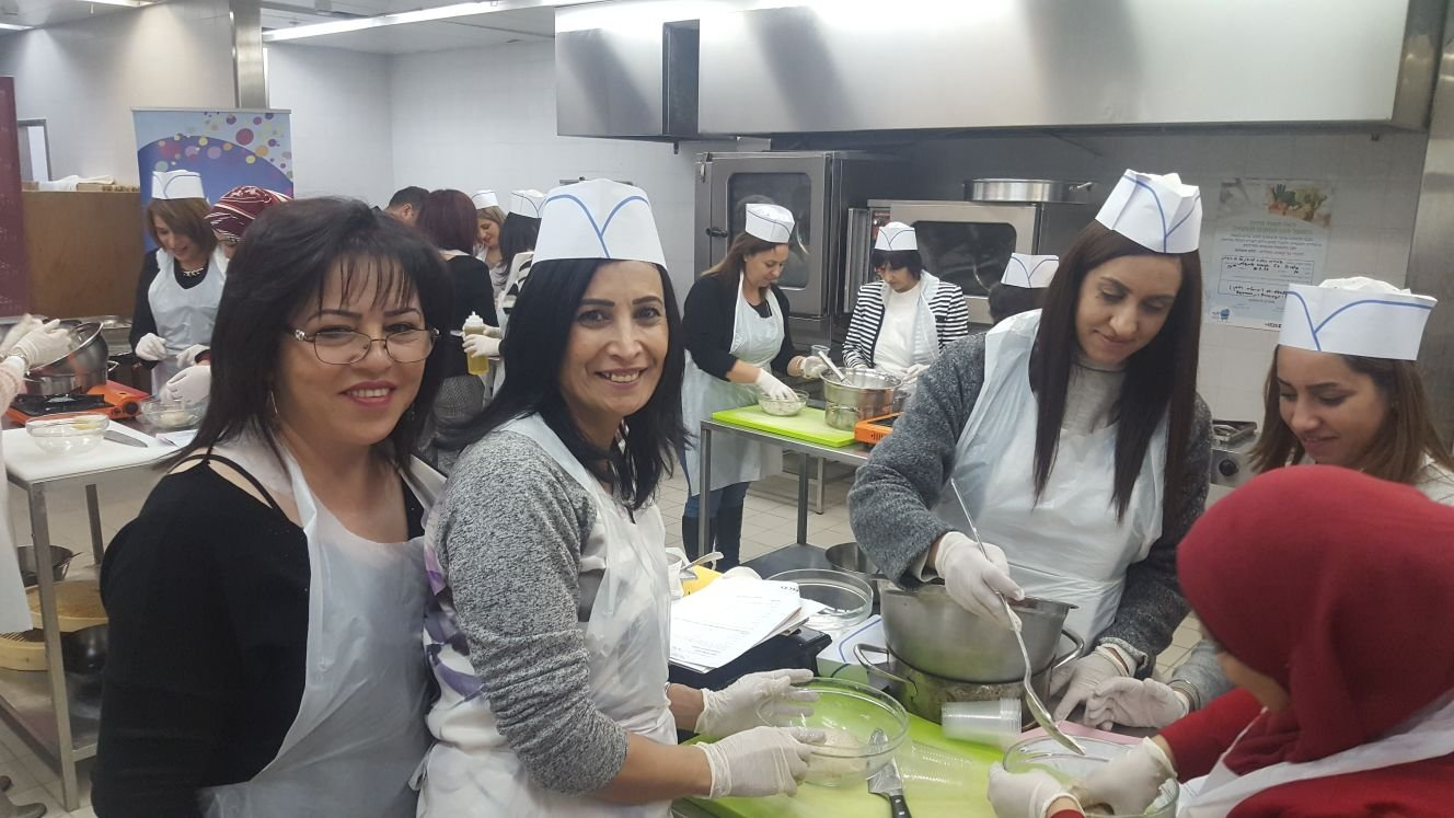 ورشة طبخ صحية تعرض بدائل مميزة ولذيذة