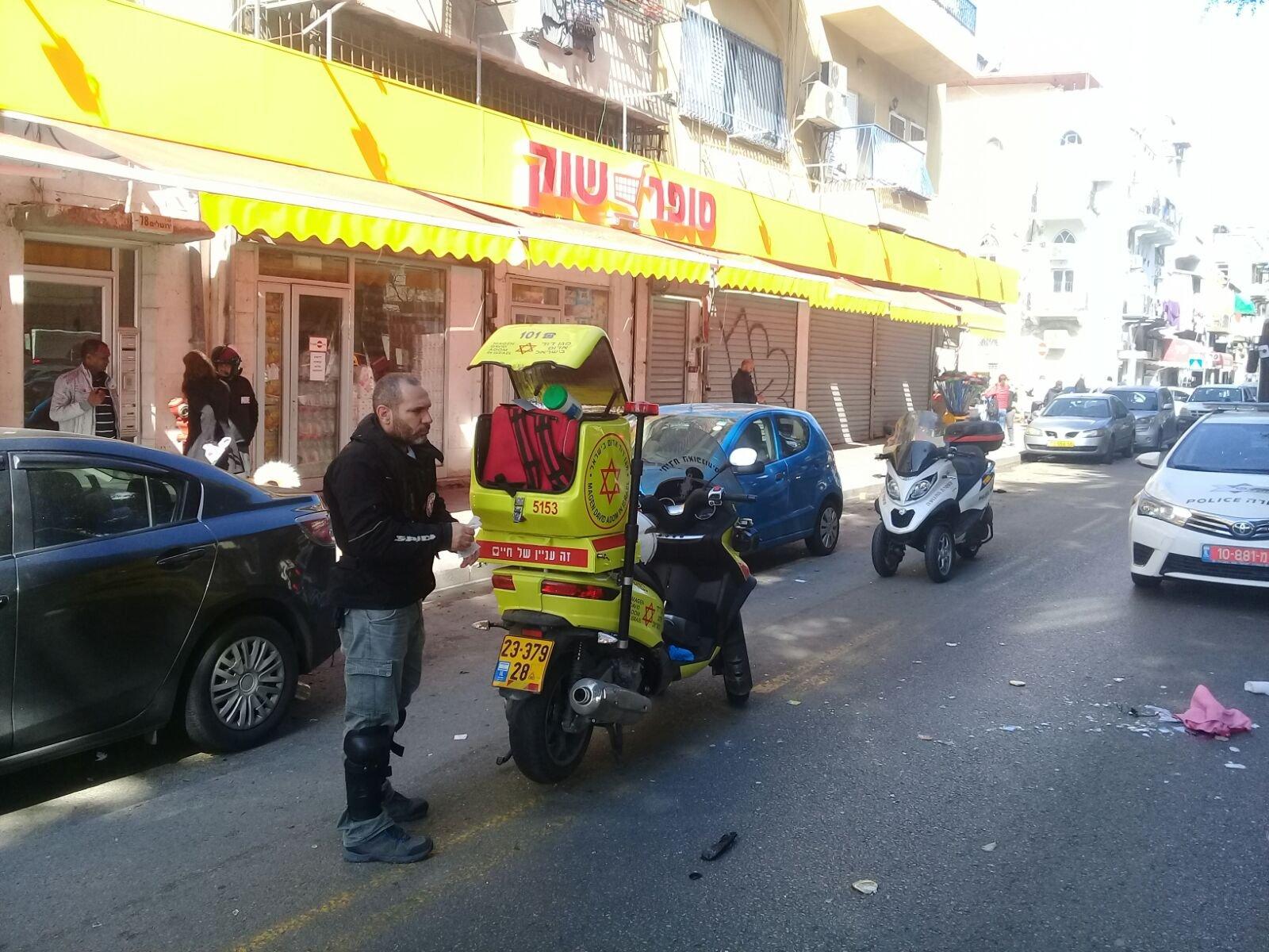 """حادث طرق """"ضرب وهرب"""" في يافا وإصابة خطيرة لسيدة-4"""