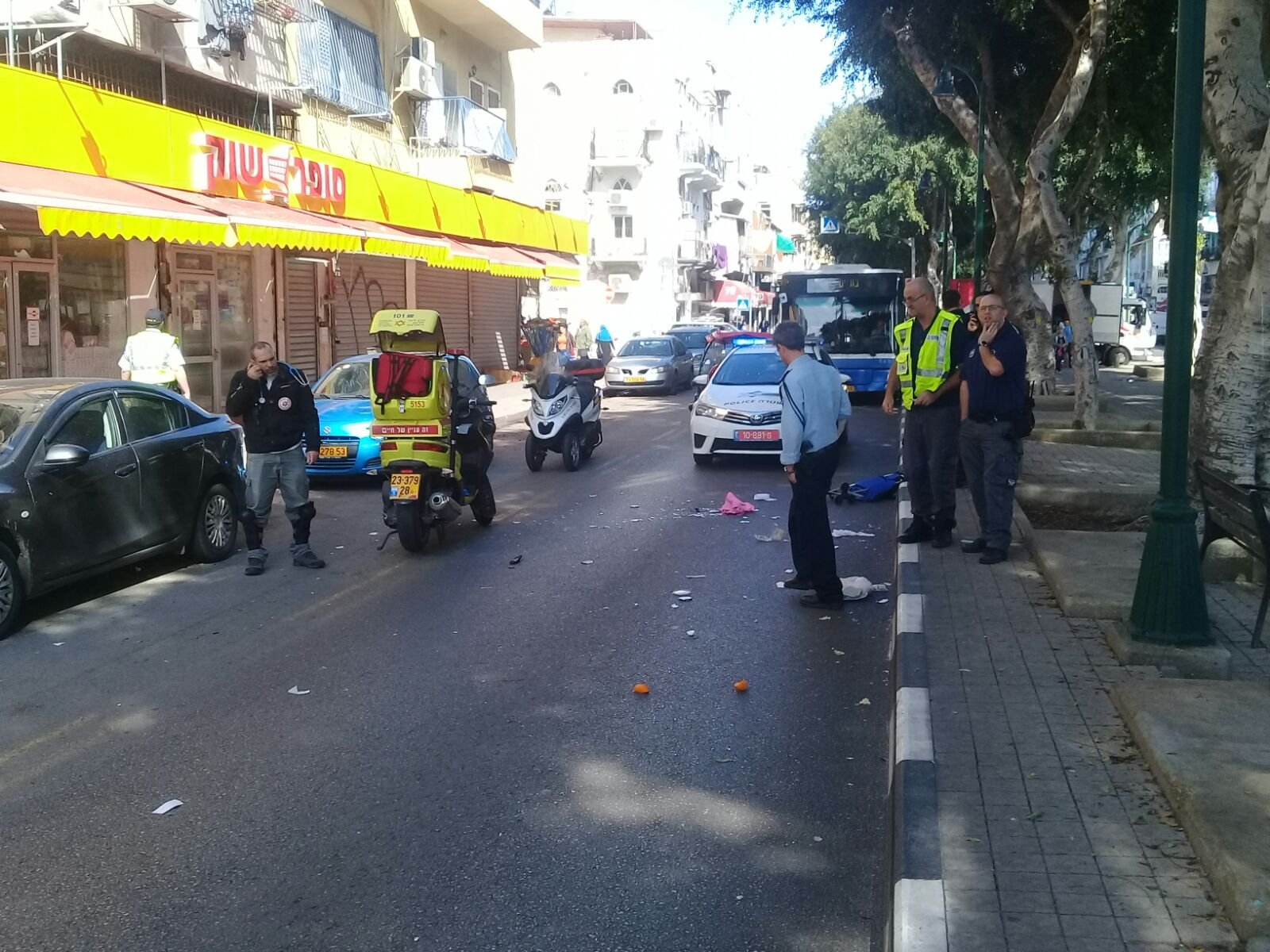 """حادث طرق """"ضرب وهرب"""" في يافا وإصابة خطيرة لسيدة-5"""