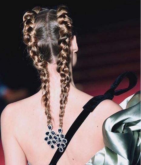 من الانستجرام تسريحات شعر pigtails ترند 2020
