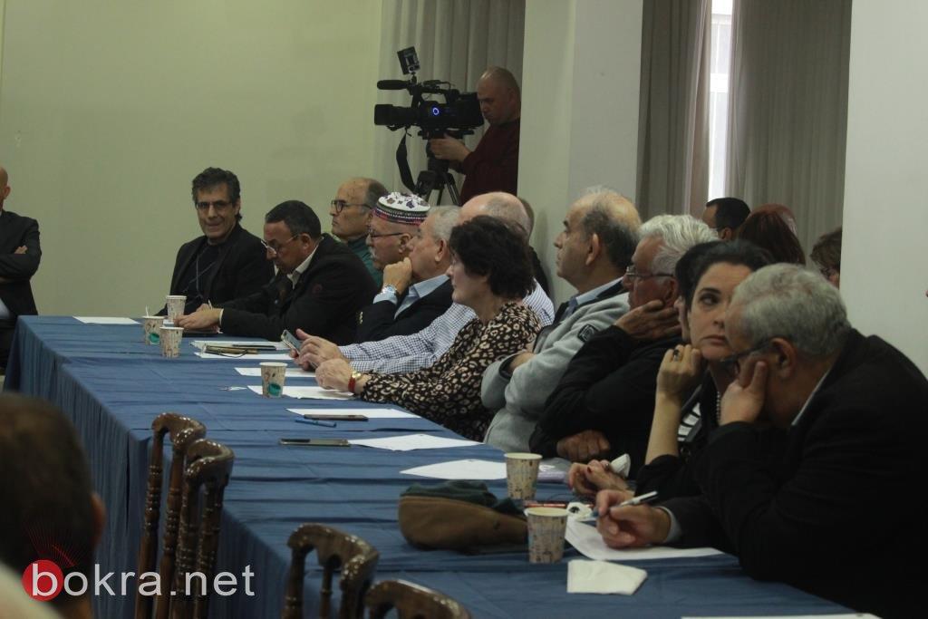 أمس في تل ابيب: لقاء فلسطيني – إسرائيلي يجمع على رفض صفقة القرن