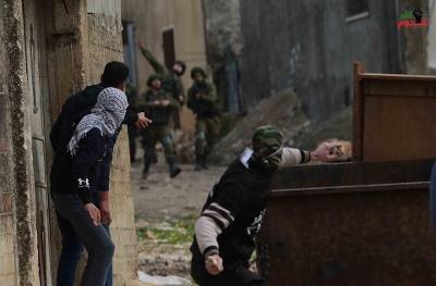 عشرون اصابة بالاختناق خلال قمع جيش الاحتلال لمسيرة كفر قدوم