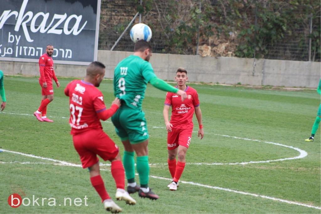تعادل ابيض من الأحمر الفحماوي والاخاء النصراوي(0-0)
