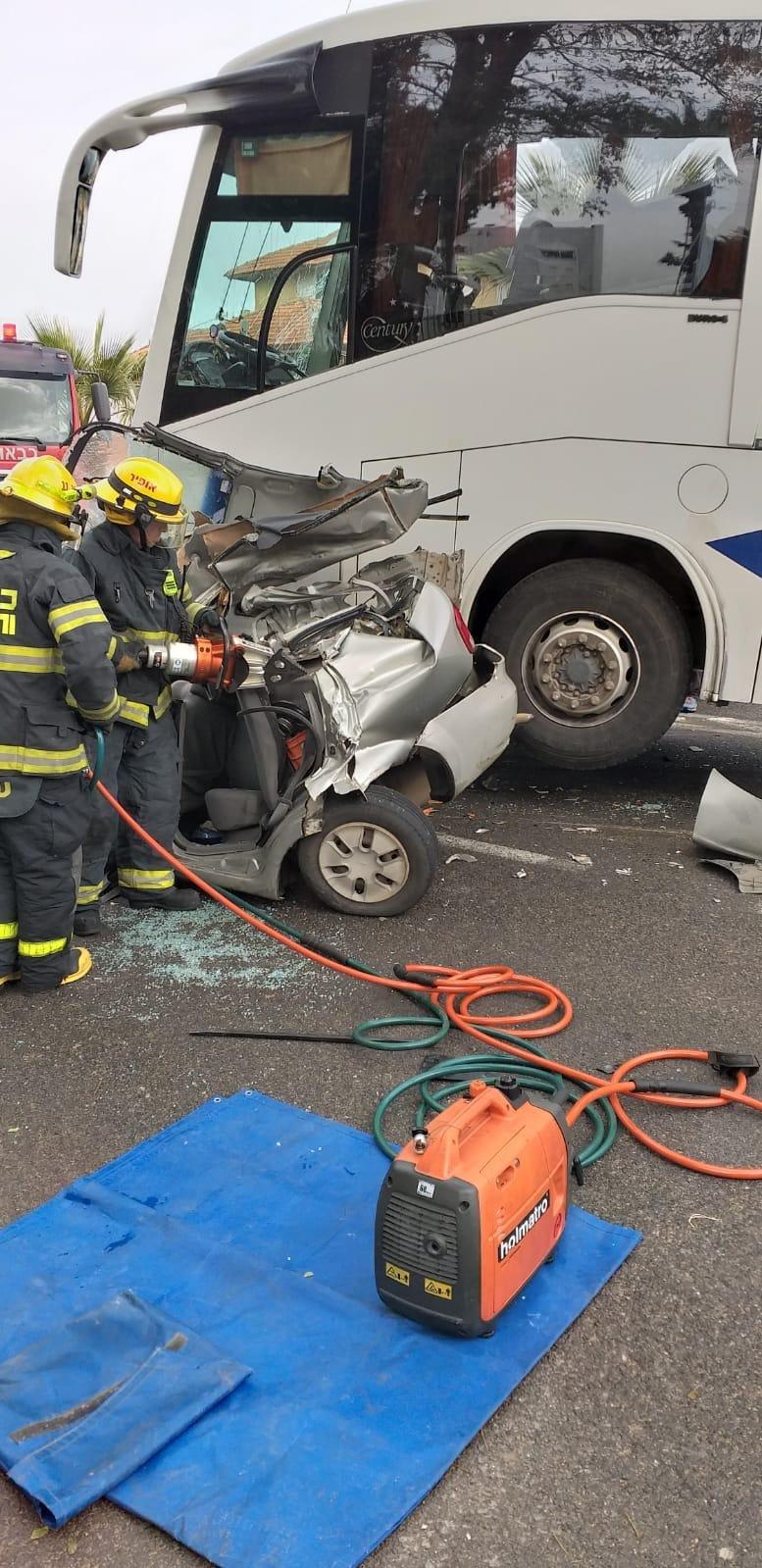 حوادث طرق مروعة صباح اليوم، قرب مستشفى نهاريا وفي منطقة القدس