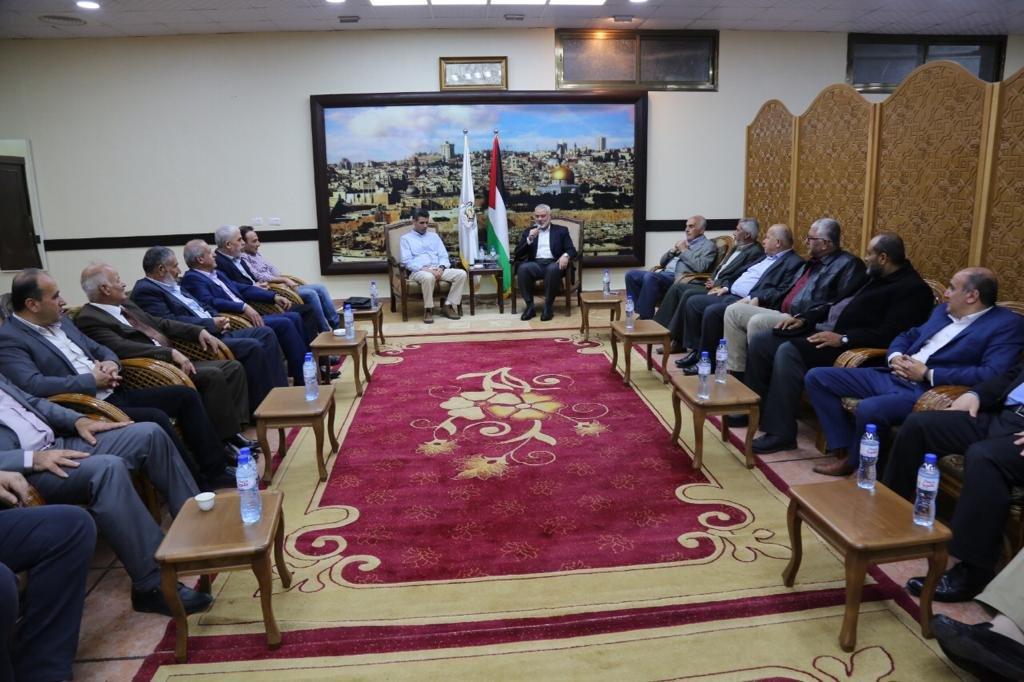منيب رشيد المصري يعقد عددا من الاجتماعات في قطاع غزة