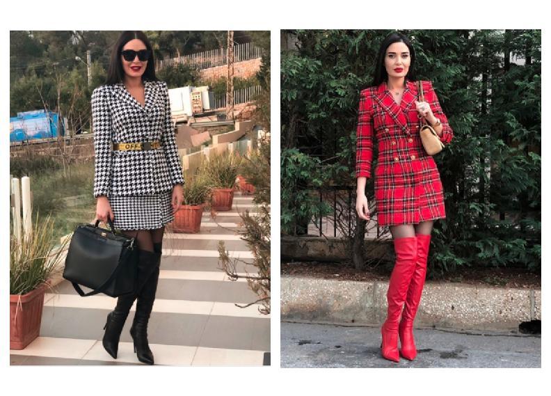 أزياء سيرين عبد النور في مسلسل الهيبة تشغل الانستقرام