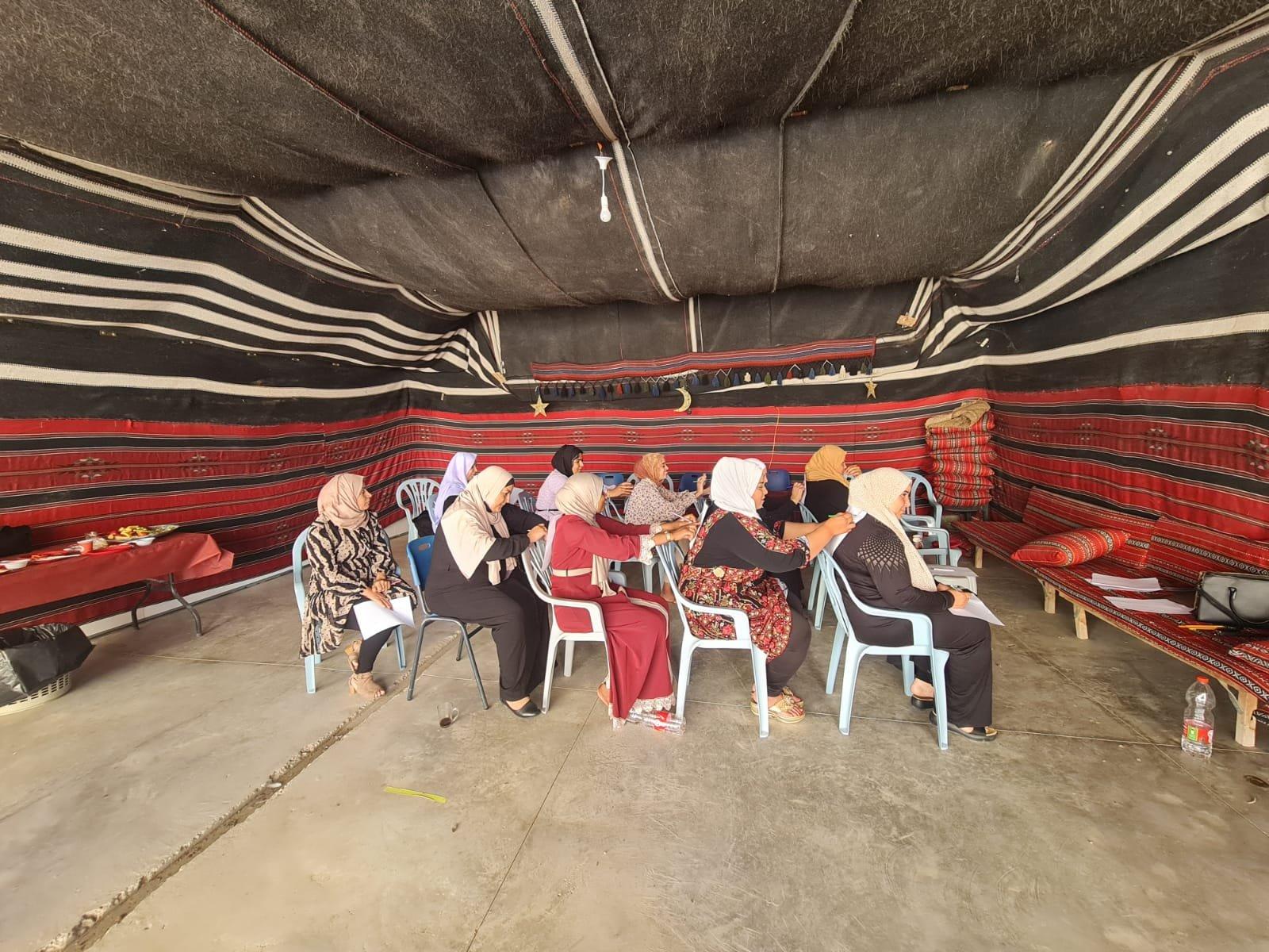 """انطلاق مشروع """"حماية الأسرة"""" للنساء العربيات في النقب!-0"""