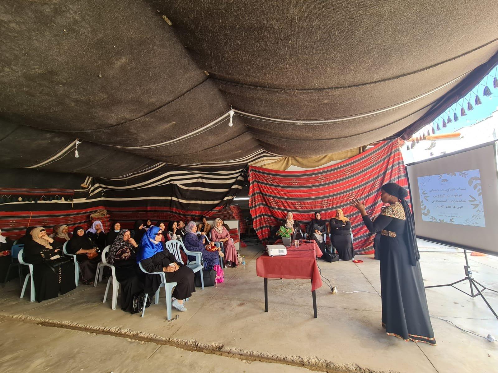 """انطلاق مشروع """"حماية الأسرة"""" للنساء العربيات في النقب!-2"""