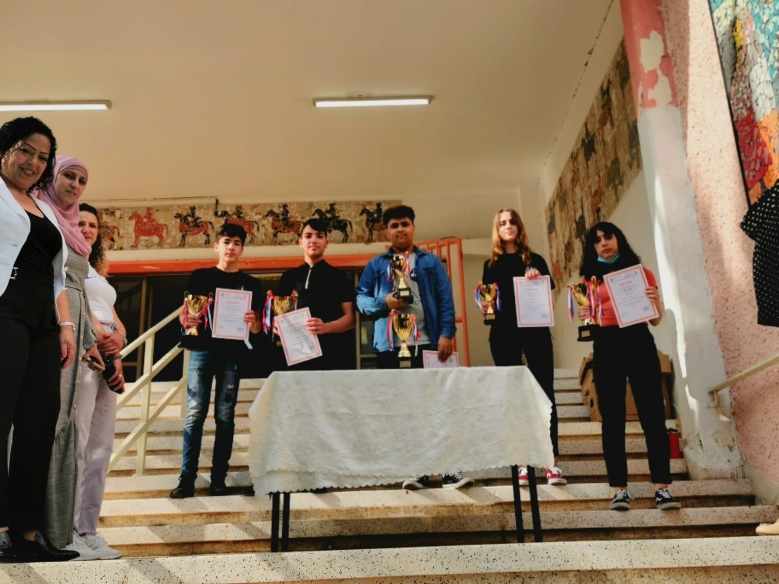 جَمْعيَّةُ إبداع تُكرِّمُ الفائزين في مُسابقة اللُّغَة الإنجليزيَّة القُطريَّة العِشرين بالتَّعاونِ مَعَ المدارِسِ المُشارِكَة