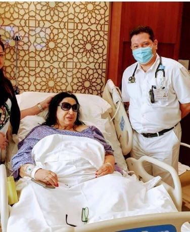 سميرة توفيق تخضع لعملية في القلب.. وهذه تفاصيل حالتها الصحية