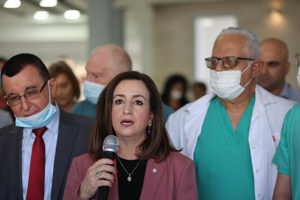"""وعد بدعم كبير لمستشفيات المدينة.. وزير الصحة في الناصرة يتحدث لـ""""بكرا""""، وهذا ما قاله عن """"الكنابيس""""-0"""