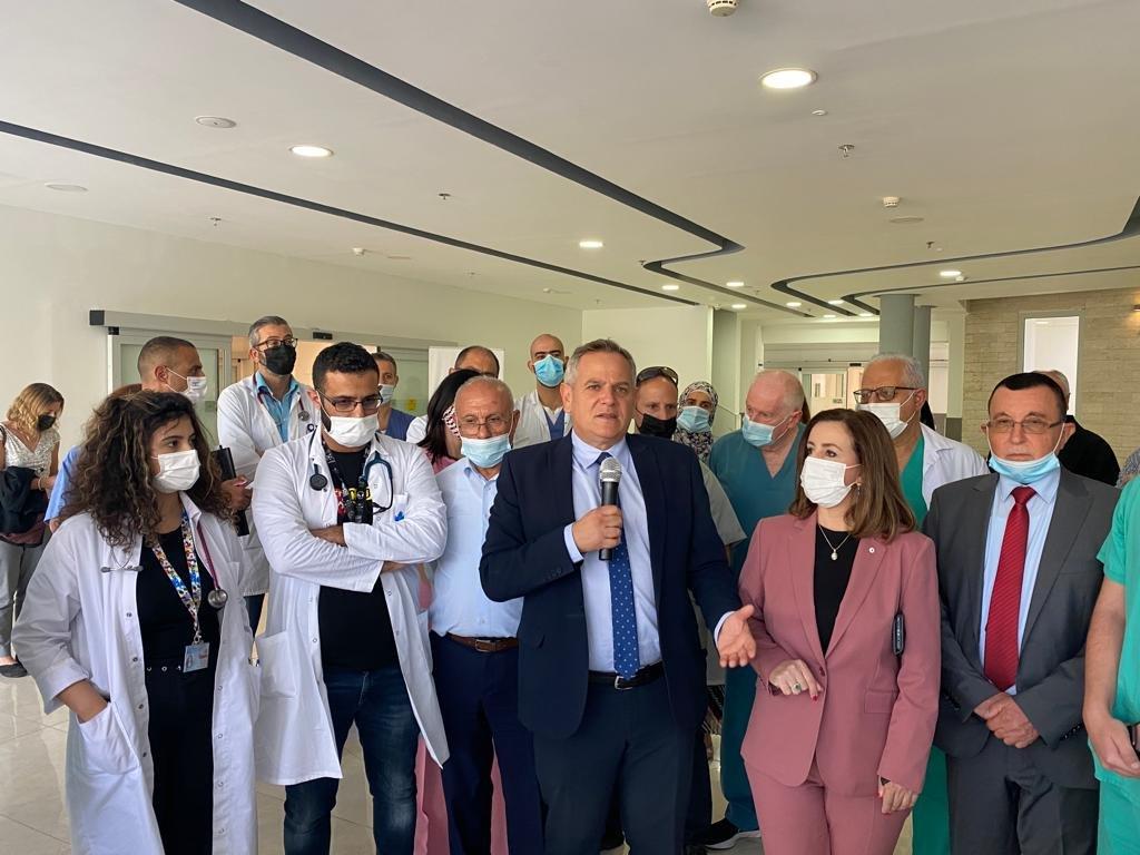 """وعد بدعم كبير لمستشفيات المدينة.. وزير الصحة في الناصرة يتحدث لـ""""بكرا""""، وهذا ما قاله عن """"الكنابيس""""-4"""