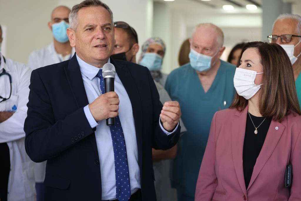 """وعد بدعم كبير لمستشفيات المدينة.. وزير الصحة في الناصرة يتحدث لـ""""بكرا""""، وهذا ما قاله عن """"الكنابيس""""-5"""