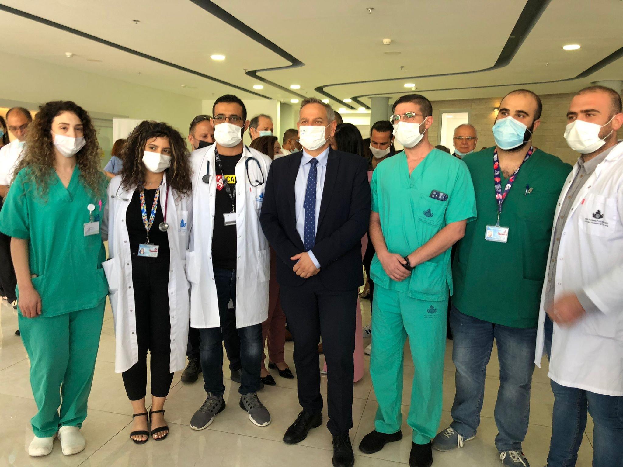 """وعد بدعم كبير لمستشفيات المدينة.. وزير الصحة في الناصرة يتحدث لـ""""بكرا""""، وهذا ما قاله عن """"الكنابيس""""-8"""