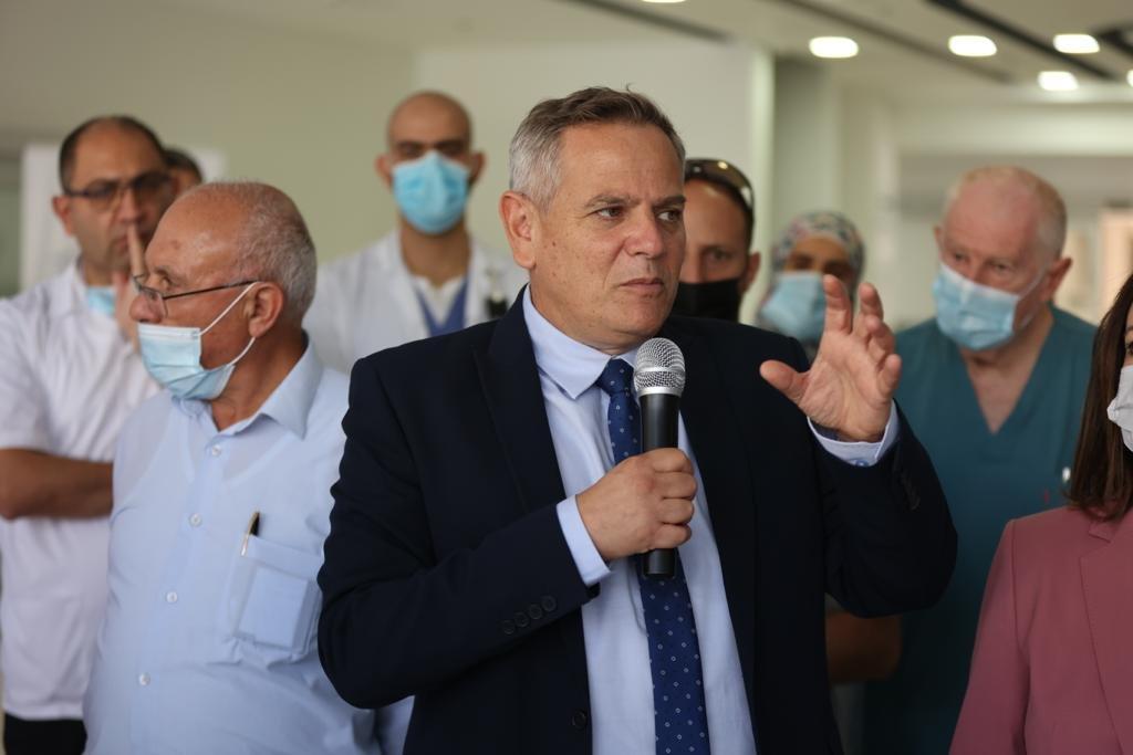 """وعد بدعم كبير لمستشفيات المدينة.. وزير الصحة في الناصرة يتحدث لـ""""بكرا""""، وهذا ما قاله عن """"الكنابيس""""-9"""