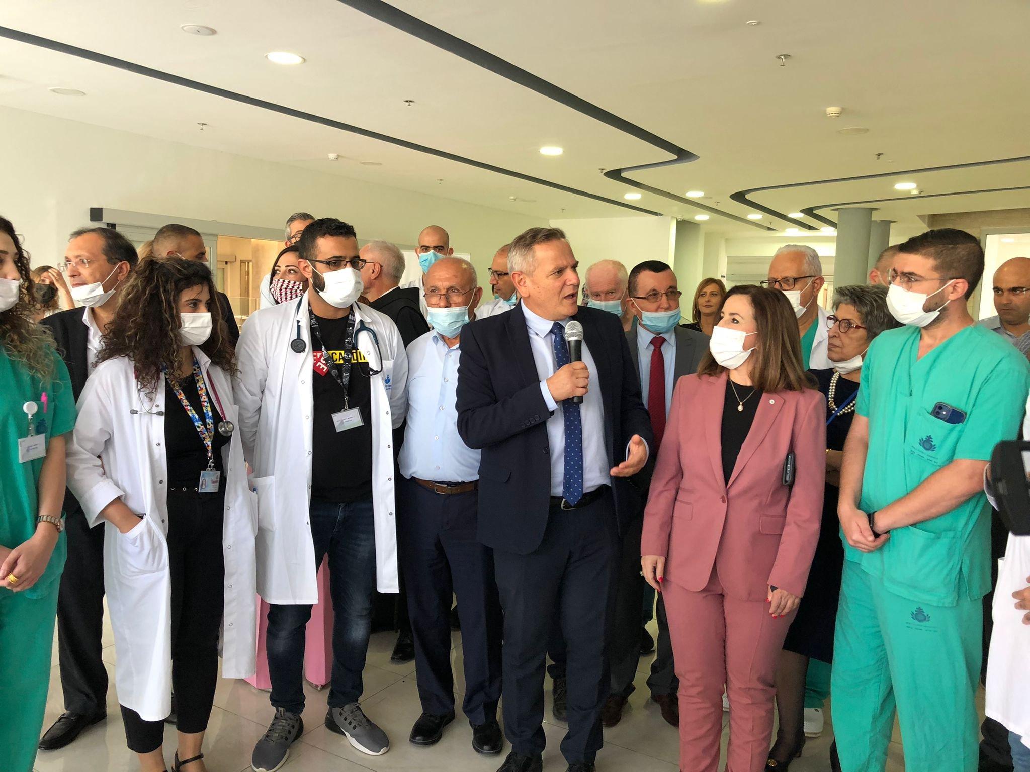 """وعد بدعم كبير لمستشفيات المدينة.. وزير الصحة في الناصرة يتحدث لـ""""بكرا""""، وهذا ما قاله عن """"الكنابيس""""-12"""