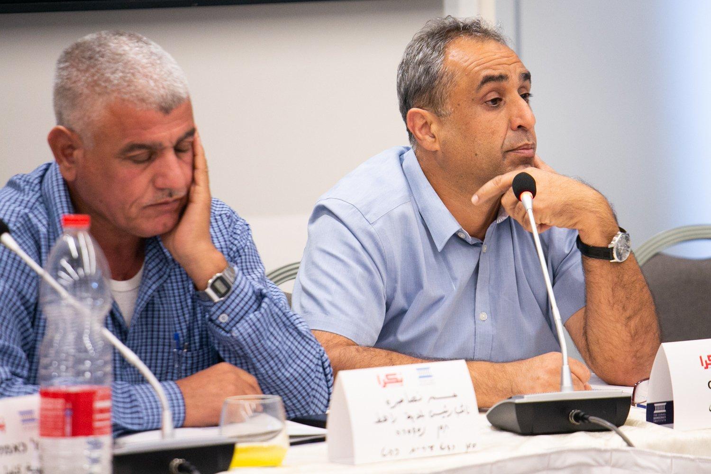العنف في المجتمع العربي، أسبابه، والحلول لمكافحته؟ .. يوم دراسي في الناصرة-95