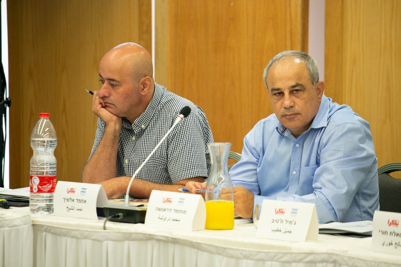 العنف في المجتمع العربي، أسبابه، والحلول لمكافحته؟ .. يوم دراسي في الناصرة-106