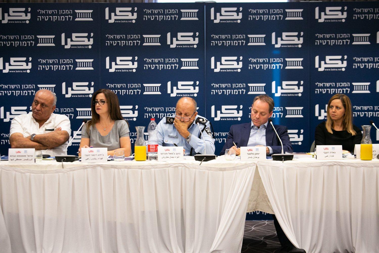 العنف في المجتمع العربي، أسبابه، والحلول لمكافحته؟ .. يوم دراسي في الناصرة-145