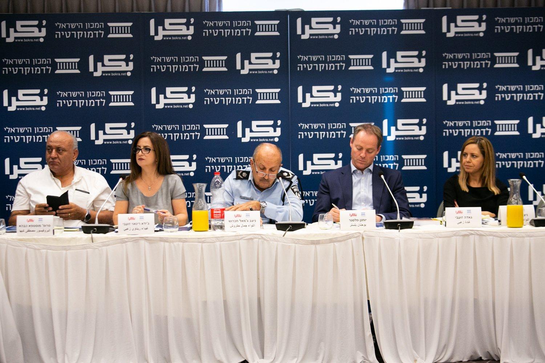 العنف في المجتمع العربي، أسبابه، والحلول لمكافحته؟ .. يوم دراسي في الناصرة-160