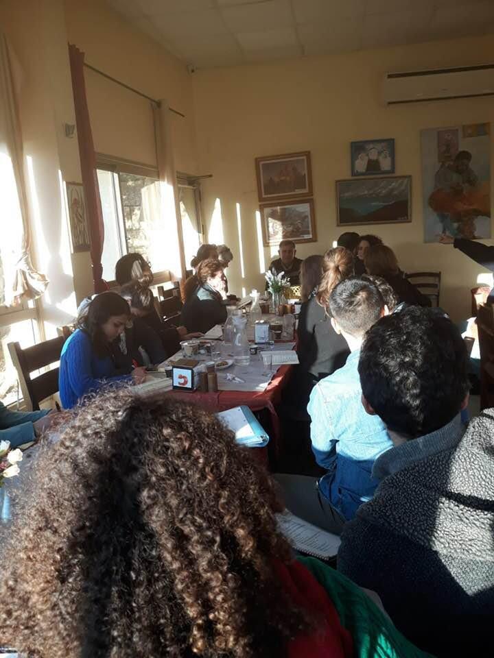 جمعية الدفاع عن حقوق المهجرين تلتقي مع وفد طلابي من جامعة هارفارد