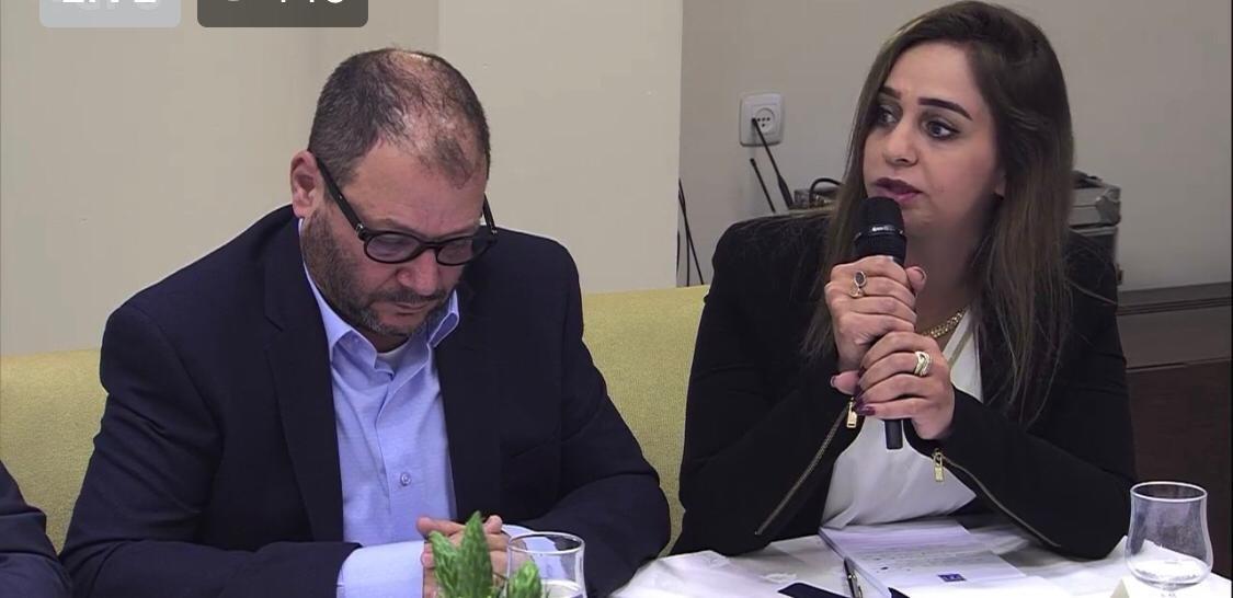 وفد الجبهة والعربية للتغيير يلتقي ريفلين ويؤكد: لا نوصي بأحد لرئاسة الحكومة