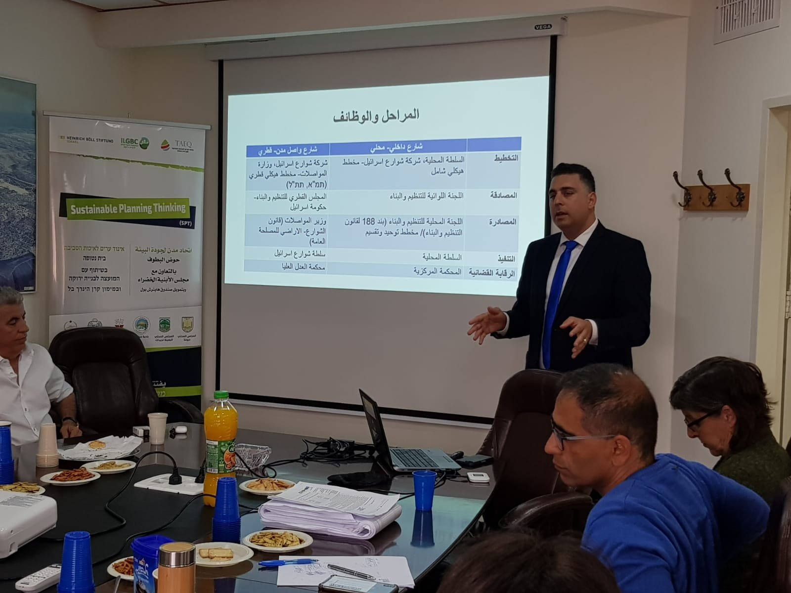 محاضرة للمحامي قيس ناصر عن تخطيط الشوارع في البلدات العربية