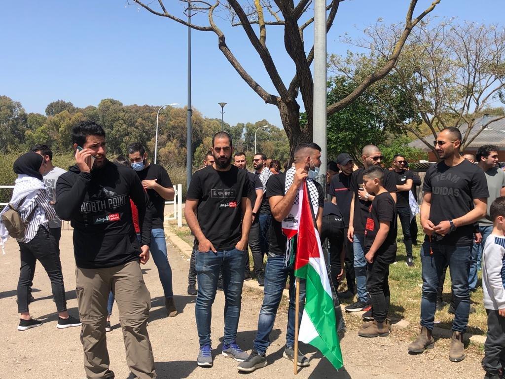 تحت شعار يوم استقلالهم هو يوم نكبتنا، اللجون تختتم مسيرة عودتها