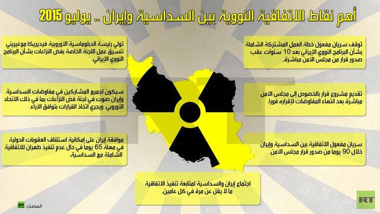 طهران بدأت عمليا زيادة مخزونها من اليورانيوم منخفض التخصيب
