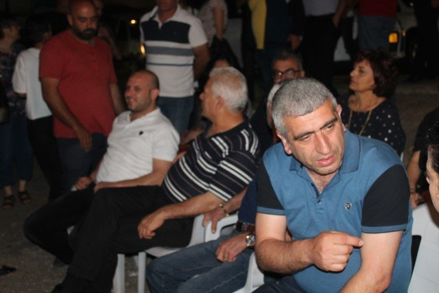 نصب خيمة اعتصام ضد الجريمة امام شرطة الناصرة وحضور بارز