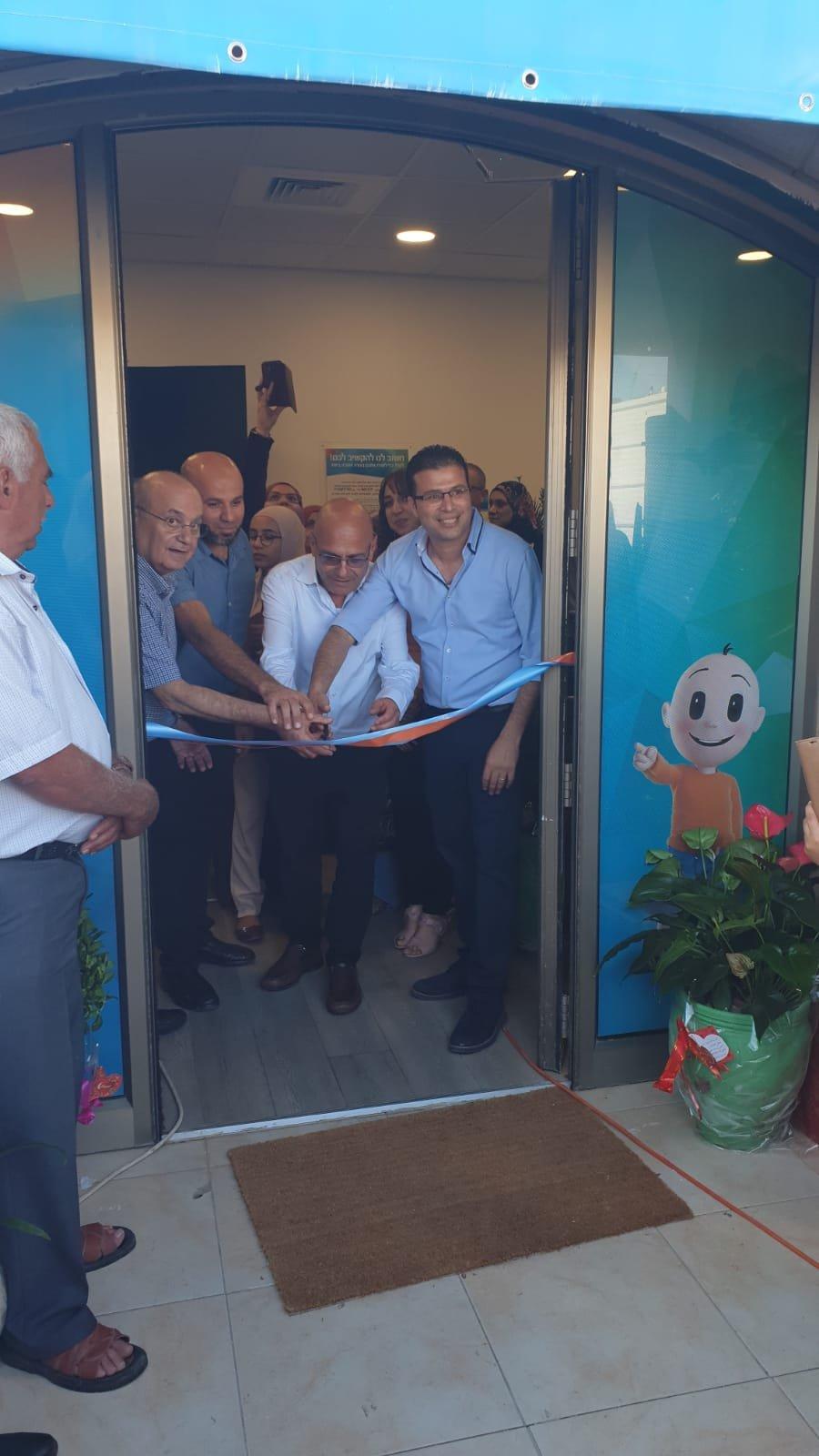 افتتاح عيادة أوليّة جديدة لكلاليت في قرية زلفة
