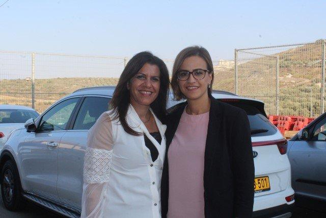 الناصرة: النائب هبة يزبك تدعو للتصويت وتتحدث عن الكتلة المانعة