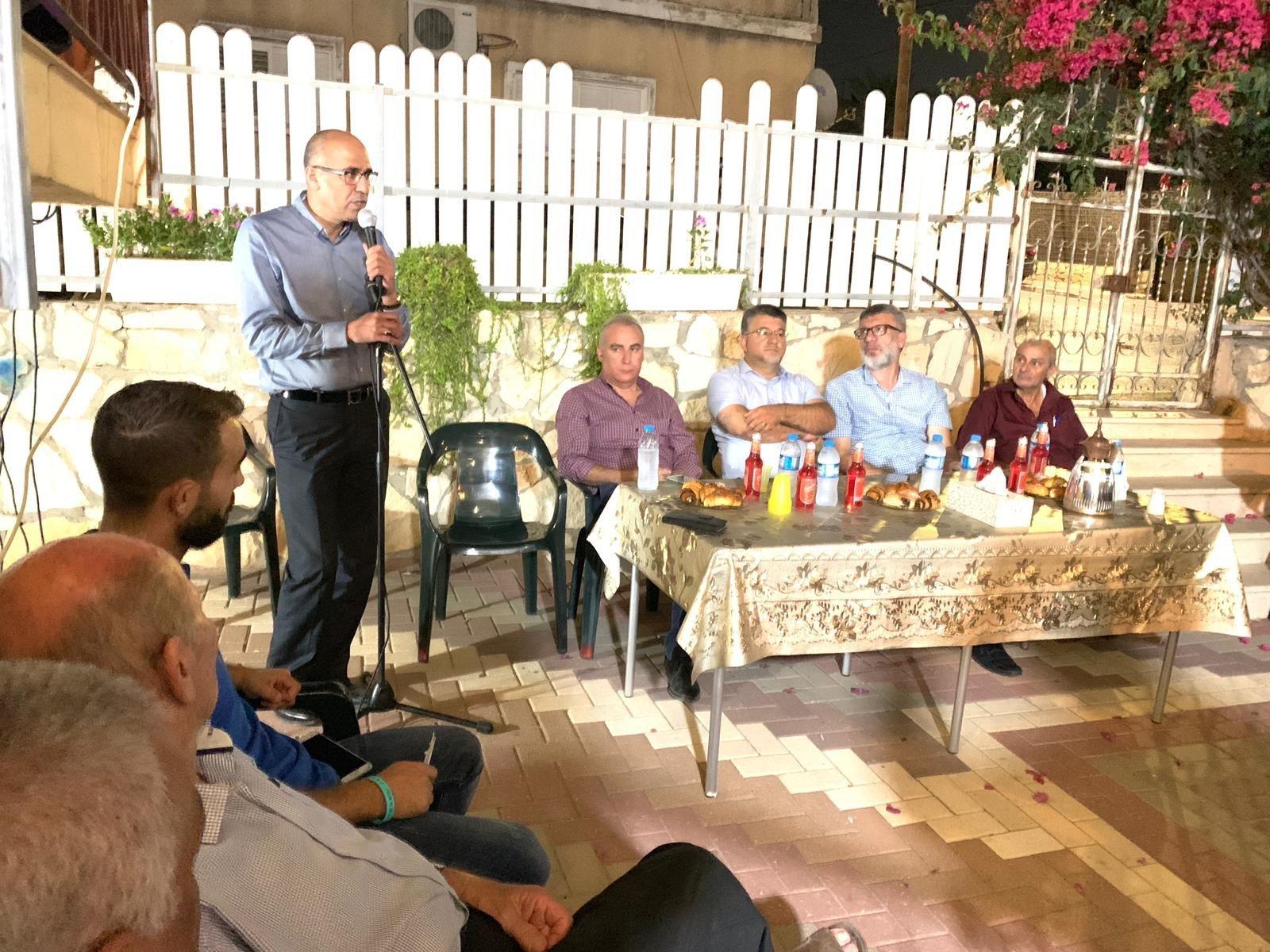 جت: اجتماع لدعم المشتركة بمشاركة وتد وجبارين