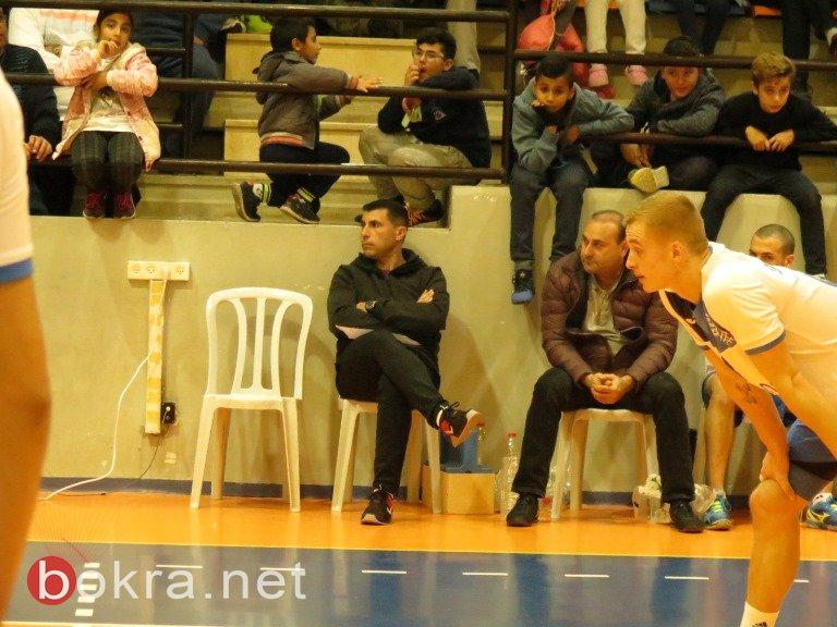 فريق شباب عيلبون لكرة الطائرة يحقق فوزا ساحقا على مكابي حيفا