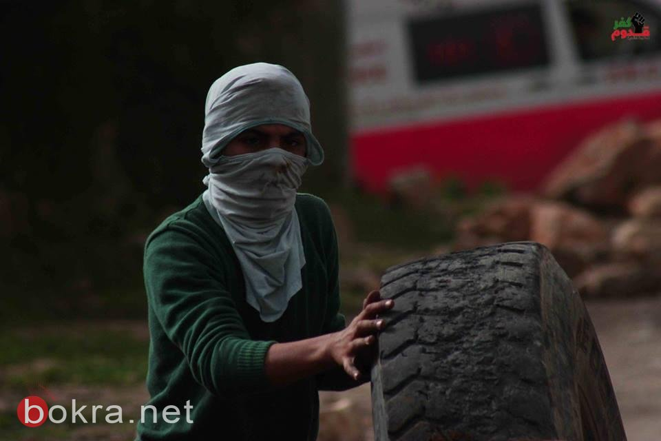 إصابة 3 شبان بجروح و8 بحالات اختناق خلال قمع جيش الاحتلال لمسيرة كفر قدوم