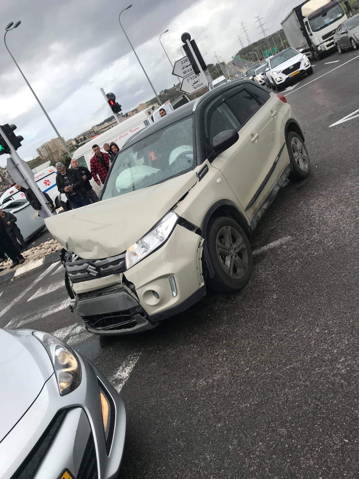 مفرق الناعمة: 5 اصابات بحادث طرق قرب شفاعمرو
