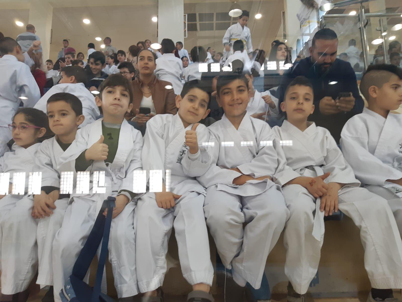 بمشاركة 15 بلدة عربية الجماهيري دير حنا يحتضن بطولة الكاراتيه الأولى