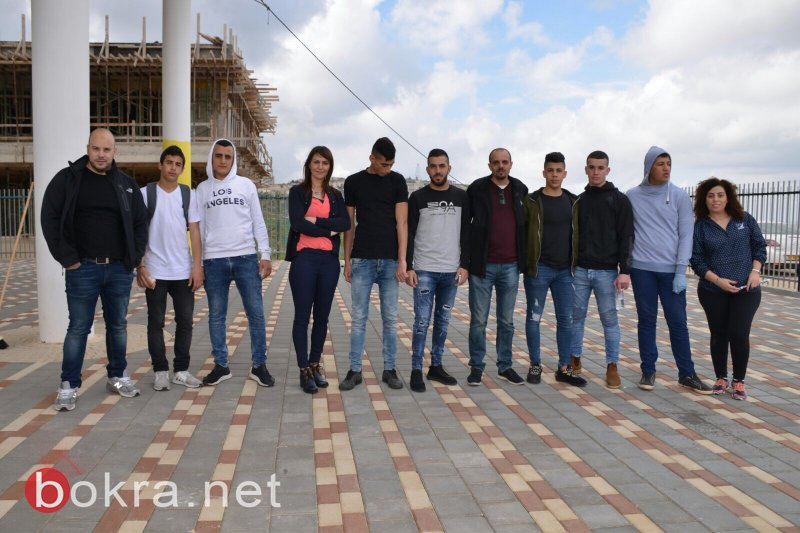 يوم الأعمال الطيبة في مدرسة خالد سليمان في الناصرة