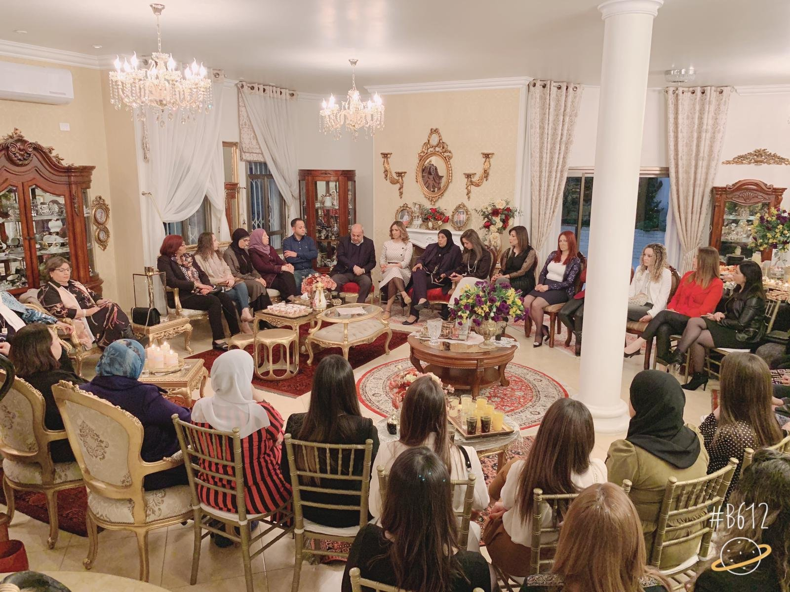 الطيبة: اجتماع انتخابي نسائي للجبهة والتغيير بحضور المرشحة سندس صالح