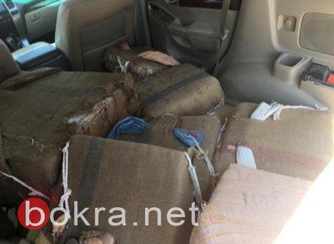 اعتقال مشتبهين من النقب بشبهة تهريب 335كغم من الحشيش