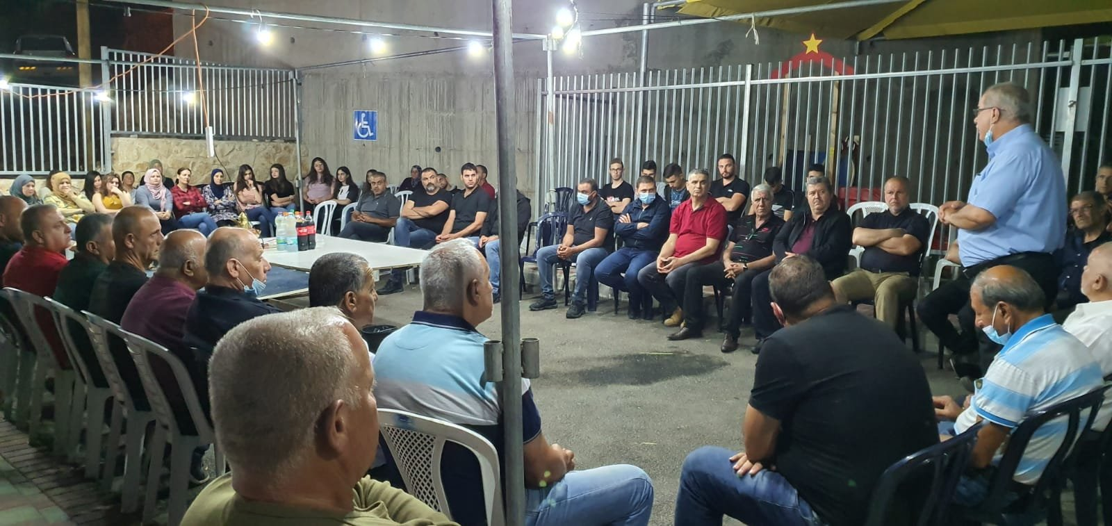 بركة في نحف: التضامن الشعبي يساهم في منع جريمة هدم البيوت-0